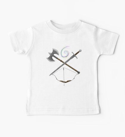 Dungeons & Dragons Weapons Baby Tee