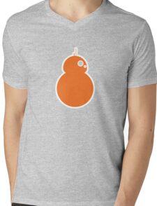 Simplistic BB-8 Mens V-Neck T-Shirt