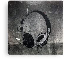 Tunes Canvas Print