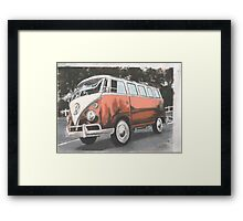 Blunder Bus Framed Print