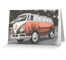 Blunder Bus Greeting Card