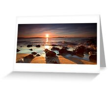 Boronia Beach Sunrise #10 Greeting Card