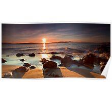 Boronia Beach Sunrise #10 Poster