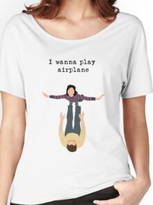 I Wanna Play Airplane Women's Relaxed Fit T-Shirt