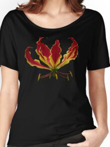 Fire lily Women's Relaxed Fit T-Shirt