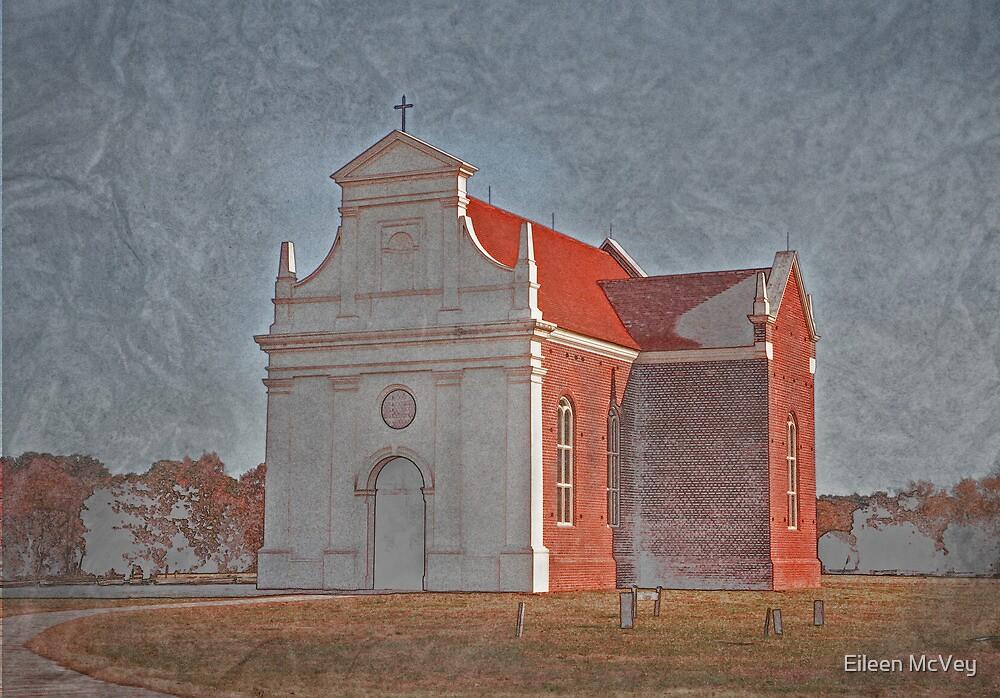 Old Church by Eileen McVey