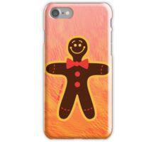 Christmas Cookie Man iPhone Case/Skin