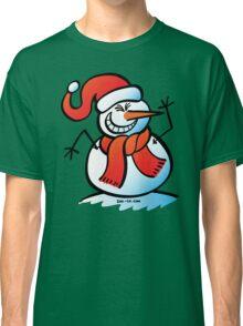 Naughty Snowman Classic T-Shirt