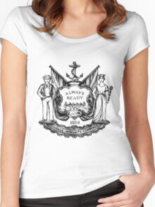 South Shields Coat of Arms Women's Fitted Scoop T-Shirt