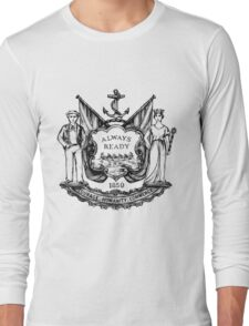 South Shields Coat of Arms Long Sleeve T-Shirt