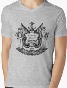 South Shields Coat of Arms Mens V-Neck T-Shirt