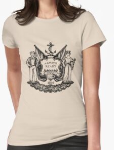 South Shields Coat of Arms Womens Fitted T-Shirt