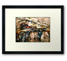 Wessex Winter...Hardy Country Framed Print