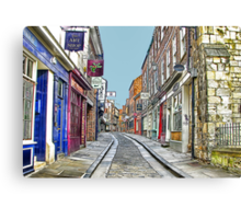 The Shambles - York Canvas Print