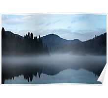 Jacques-Cartier River in the fog Poster
