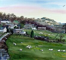 """Lakeland Spring"" - Troutbeck, Cumbria, English Lake District by Timothy Smith"