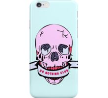 Do Nothing Club iPhone Case/Skin