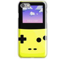 Yellow Gameboy iPhone Case/Skin