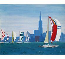 Lake Michigan - Chicago Photographic Print