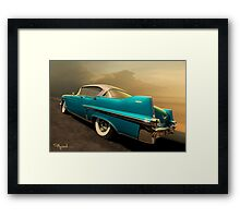 Riding with Patsy Framed Print