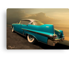 Riding with Patsy Canvas Print