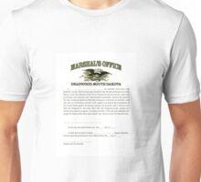 Deadwood Marshal Unisex T-Shirt