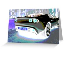 Lotus Elise Solarized Greeting Card