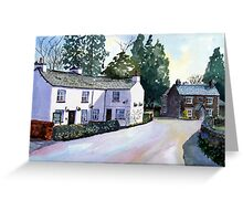 """Buckle Yeat"" - Near Sawrey, Cumbria, English Lake District (Beatrix Potter's Home Village) Greeting Card"