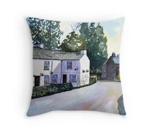 """Buckle Yeat"" - Near Sawrey, Cumbria, English Lake District (Beatrix Potter's Home Village) Throw Pillow"