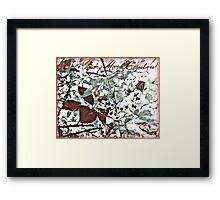 Berry Merry Christmas Framed Print