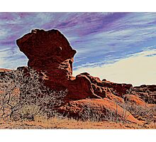 Jut Rock Photographic Print