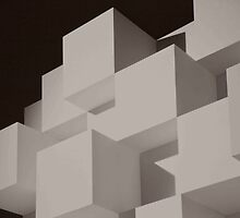 Cubes On Cubes by phil decocco