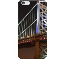 Ben Franklin Bridge Philadelphia iPhone Case/Skin
