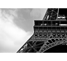 Eiffel Mono Photographic Print