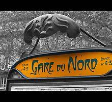 Gare Du Nord by RecklessTimes