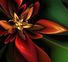 Jungle Flower by Christine Kühnel