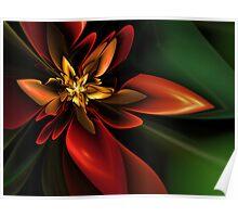 Jungle Flower Poster