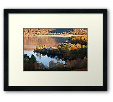 Manesty Rise near Grange in Cumbria Framed Print
