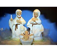 Mom's Nativity Photographic Print