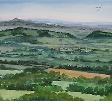"""""""Laughing Place"""" - Ebbor, The Mendip Hills, Somerset by Timothy Smith"""
