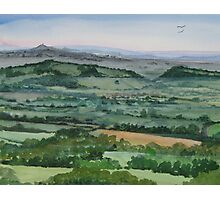"""""""Laughing Place"""" - Ebbor, The Mendip Hills, Somerset Photographic Print"""