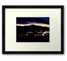 Impressionistic Peak  Framed Print