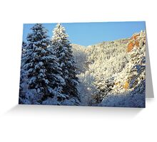 Morning Side of the Mountain Greeting Card