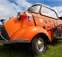 Messerschmitt at Maryport by Jan Fialkowski