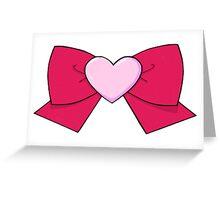 Chibi Chibi Bow Greeting Card