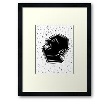 Shout Framed Print