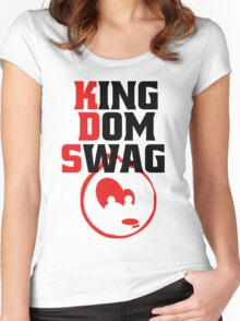 Kingdom Swag Women's Fitted Scoop T-Shirt