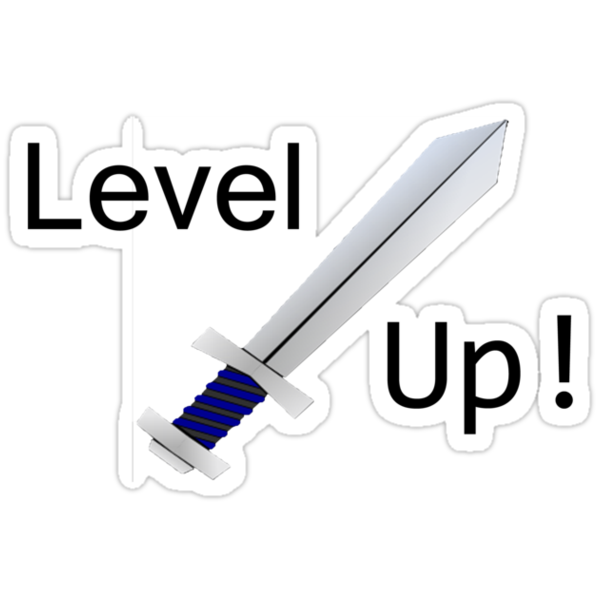 Level up! T-shirt by Ben137