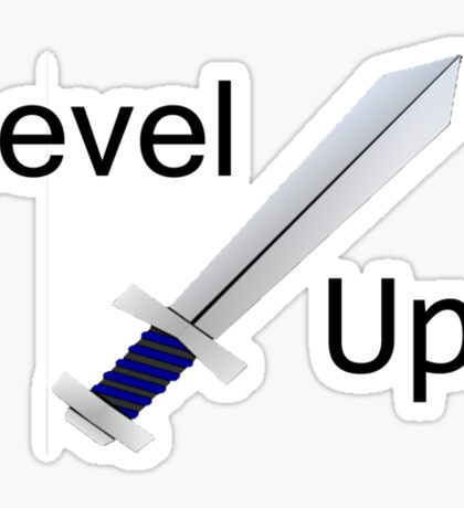 Level up! T-shirt Sticker
