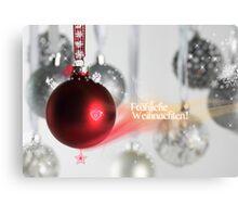 Fröhliche Weihnachten! Canvas Print